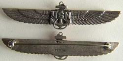 WWII Navy Sweetheart Wings Sterling, Weingarten Gallery Item Number P-1204