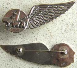TWA Stewardess Wing Sterling, Weingarten Gallery Item Number P-1448