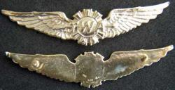 TWA Wing Sterling Gold Plated, Weingarten Gallery Item Number P-1773
