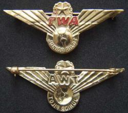 TWA Junior Pilot Sterling, Weingarten Gallery Item Number P-1615