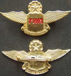 TWA Jr Pilot Older Version Sterling, Weingarten Gallery Item Number P-1616