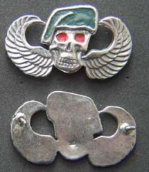 US Army Special Forces Vietnam Badge Sterling, Weingarten Gallery Item Number P-1636