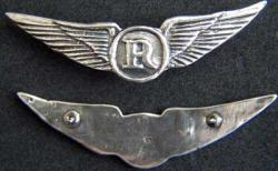 Helicopter Crew Wings - Recon / Observer Sterling, Weingarten Gallery Item Number P-1793
