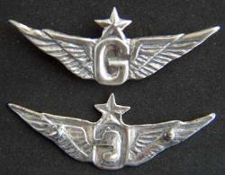 Vietnam unofficial Helo Senior Door Gunner Pin, Weingarten Gallery Item Number P-1798S