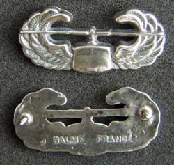 Combat Assualt Badge Sterling Balme Design, Weingarten Gallery Item Number P-1769
