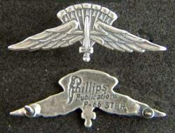 Halo Jumper Mess Dress Badge Sterling, Weingarten Gallery Item Number P-1949B