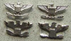 War Eagle Collar Size Sterling set of two, Weingarten Gallery Item Number P-1599