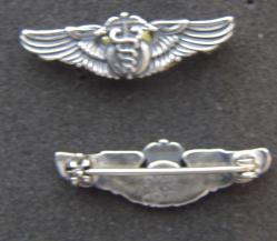 WWII Flight Surgeon Hat Pin Sterling, Weingarten Gallery Item Number P-2088