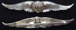 WWI Pilot Wing sterling, Weingarten Gallery Item Number P-2096