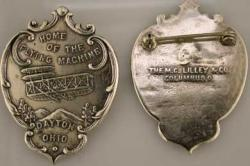 1909 Wright Brothers Homecoming Pin Sterling, Weingarten Gallery Item Number P-1230