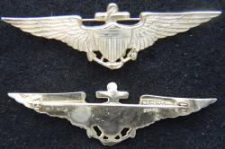 1920-1930s US Navy Pilot wing vaulted, Weingarten Gallery Item Number P-2122