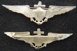 1920-1930s US Navy Pilot wing vaulted, Weingarten Gallery Item Number P-2122B