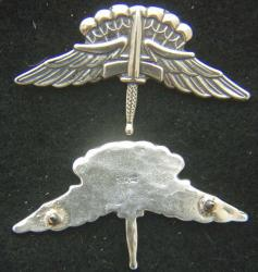 US Army Halo Badge Sterling Silver, Weingarten Gallery Item Number P-2148