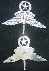US Army Master Halo Badge Sterling Silver, Weingarten Gallery Item Number P-2147