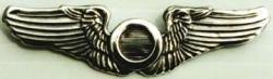 WWII Observer Wings Sterling, Weingarten Gallery Item Number P-773