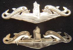 WWII Submarine Deep Wave HH Imperial Sterling, Weingarten Gallery Item Number P-2170