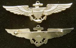WWII Navy Pilot Balfour Design Sterling, Weingarten Gallery Item Number P-2171