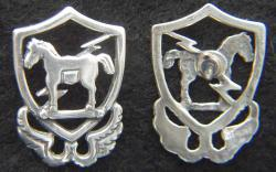 10th Special Forces 1950s beret badge Sterling Silver Tie Tack, Weingarten Gallery Item Number P-2176T