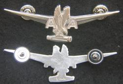 American Airlines 1960's Flight Engineer Wings Sterling, Weingarten Gallery Item Number P-2180