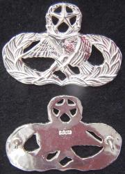 Air Force Occupation & Aeronautical Badges - Maintenance Master Full Size Sterling, Weingarten Gallery Item Number P-2215
