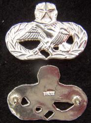 Air Force Occupation & Aeronautical Badges - Maintenance Master Mess Dress Sterling, Weingarten Gallery Item Number P-2216