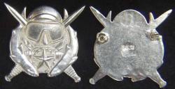 Special Operations Supervisor Diver Badge Sterling Silver, Weingarten Gallery Item Number P-2224