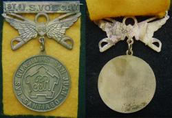 Spanish American War 1st US Volunteer Calvary Medal - Rough Riders, Weingarten Gallery Item Number P-2235