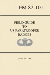 Field Guide to US Paratrooper Badges by Weingarten Gallery Item Number: Bk-1