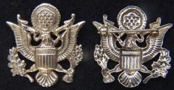 WWII Brass Gold Plated Sweetheart pin US Great Seal, Weingarten Gallery Item Number P-2258