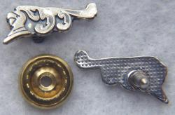 WWI French SPA 15 Squadron stick pin in  Sterling Silver, Weingarten Gallery Item Number P-2275