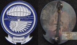 WW2 501st Airborne Infantry Geronimo DI badge GEMSCO design, Weingarten Gallery Item Number P-2302