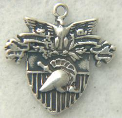 West Point, USMA sterling silver charm by Weingarten Gallery Item Number: P-2349