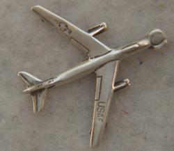 B-47 Stratojet Sterling Silver Charm by Weingarten Gallery Item Number: P-214