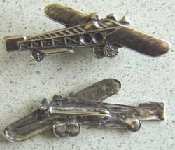 WWI French Squadron Pin Sterling, Weingarten Gallery Item Number P-1474