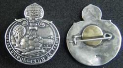 WWI Era French Aero Club de France Sterling Pin, Weingarten Gallery Item Number P-1485