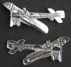 WWI French 1909 Bleriot Sterling Pin, Weingarten Gallery Item Number P-1534