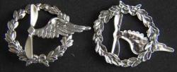 WWI French Aircrew Wings Sterling, Weingarten Gallery Item Number P-1742