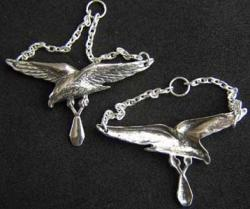 1920s French Aerial Bombardier Badge Sterling, Weingarten Gallery Item Number P-1761