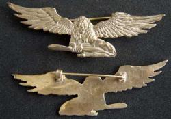WWI French Br 283 Squadron Badge, Weingarten Gallery Item Number P-1878