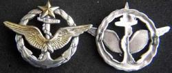 WWI French Navy Pilot Wing Badge Sterling, Weingarten Gallery Item Number P-1852