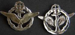 WWI French Airship Pilot Wings Sterling, Weingarten Gallery Item Number P-1740