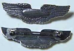 1921 Airship Pilot Wings 2 inch, Weingarten Gallery Item Number P-1151