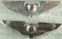 Balloon Pilot Wing Link Sterling, Weingarten Gallery Item Number P-1181