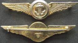 1930's US Navy Observer Wings Sterling, Weingarten Gallery Item Number P-1629