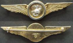 1930's USMC Observer Wing Sterling, Weingarten Gallery Item Number P-1632