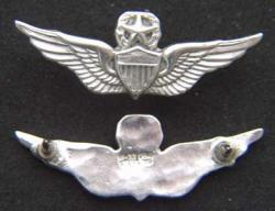 US Army Master Pilot Wing Mess Dress Sterling Silver, Weingarten Gallery Item Number P-1985
