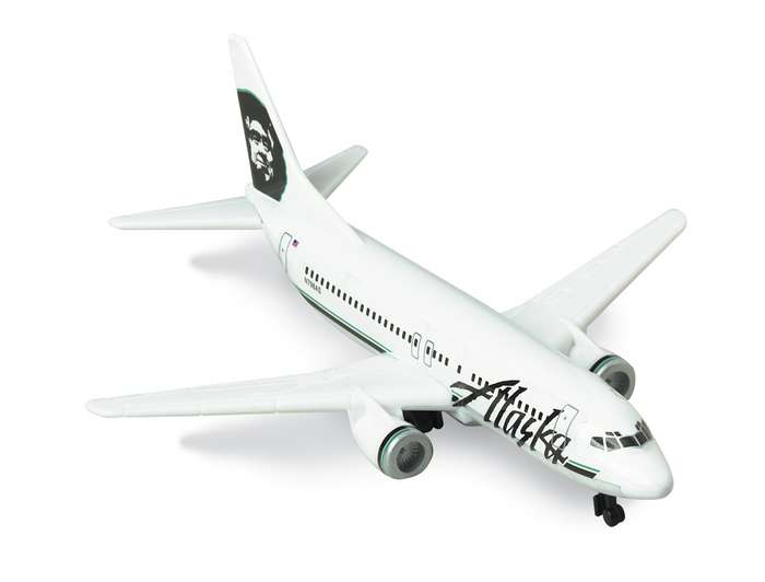 "Alaska Airlines Airliner (5""), Realtoy Diecast Toys Item Number RT3994"