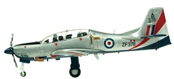 Short Tucano T1 - RAF Trainer ZF378 (1:72), Aviation72 Diecast Airlines Item Number AV72-27005