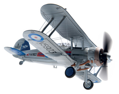 Gloster Gladiator MkII G-Glad Scale (1:72)