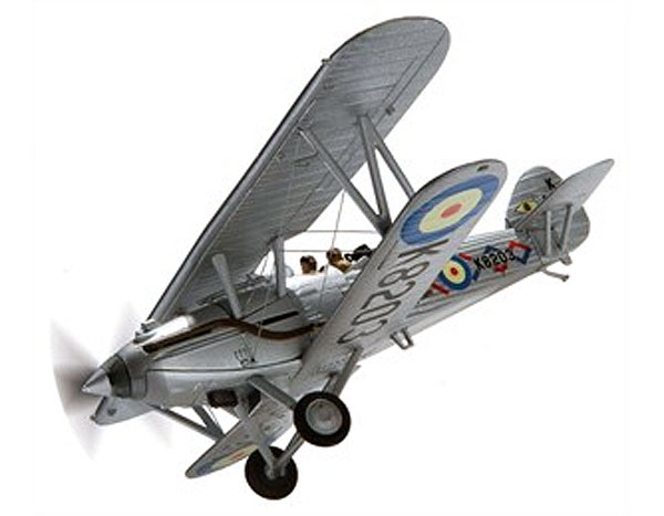 Hawker Demon G-BTVE K8203 Old Warden Shuttleworth 2013 Scale 1:32, Corgi Diecast Aviation Item Number AA39605